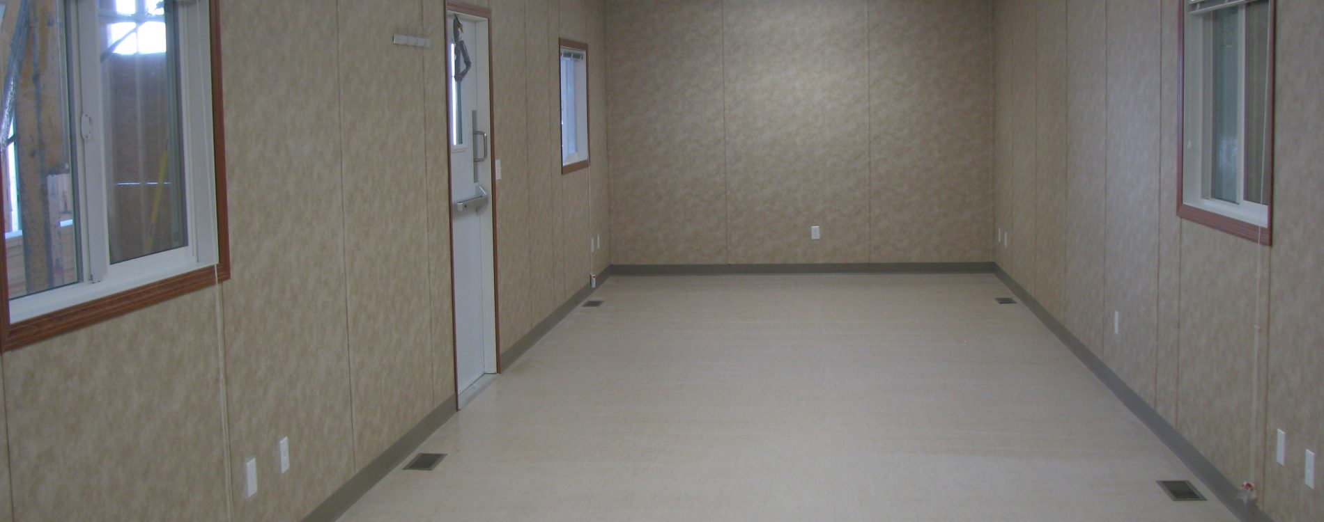 12x60 Open Skidded Office