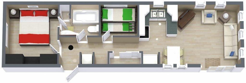 Kitchen Standard Floor Plans